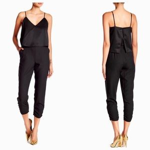 Parker Ivy black jumpsuit size Small NWT